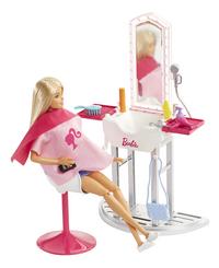 Barbie Salon de coiffure-commercieel beeld