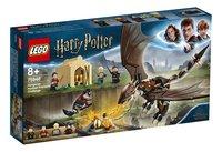 LEGO Harry Potter 75946 Hongaarse Hoornstaart Toverschool Toernooi-Linkerzijde