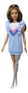 Barbie mannequinpop Fashionistas 121 - Blue Ruffle Dress-commercieel beeld