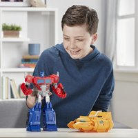 Transformers Robot Cyberverse Power of the Spark - Optimus Prime-Afbeelding 1