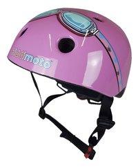 kiddi moto Kinderfietshelm pink Goggle 44 - 48 cm-commercieel beeld