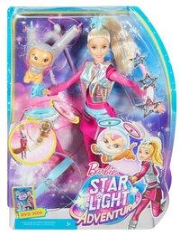 Barbie poupée mannequin  Aventures dans les étoiles avec Pupcorn-Avant