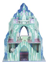 Maison de poupées en bois château de glace-Arrière