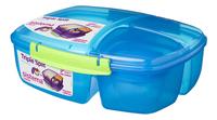 Sistema lunchbox Trends Triple Split blauw-Rechterzijde