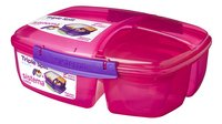 Sistema lunchbox Trends Triple Split rose-Côté droit