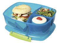 Sistema lunchbox Trends Triple Split blauw-Afbeelding 1