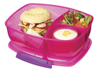 Sistema lunchbox Trends Triple Split roze-Afbeelding 1