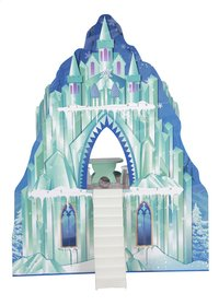 Maison de poupées en bois château de glace