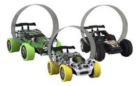 Trixx 360° acrobatische auto's Stuntcars wit/groen/zwart - 3 stuks-Artikeldetail