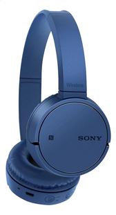 Sony Bluetooth hoofdtelefoon WH-CH500 blauw-Vooraanzicht