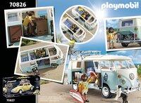 PLAYMOBIL VW 70826 Volkswagen T1 Campingbus - Special Edition-Achteraanzicht