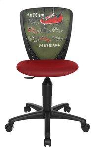 Topstar kinderbureaustoel Nic voetbal rood/groen-Vooraanzicht