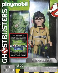 PLAYMOBIL Ghostbusters 70173 Ghostbusters Edition Collector E. Spengler-Avant