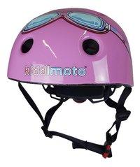 kiddi moto Kinderfietshelm pink Goggle 44 - 48 cm-Vooraanzicht