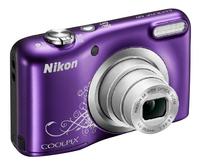 Nikon digitaal fototoestel Coolpix A10 paars-Linkerzijde
