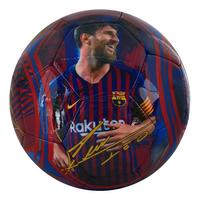 Ballon de football FC Barcelona Lionel Messi taille 5-Avant