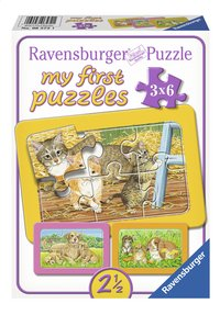 Ravensburger puzzle 3 en 1 My First Animaux domestiques