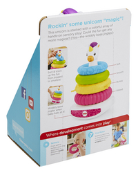 Fisher-Price Rock-a-Stack Pyramide Licorne-Arrière
