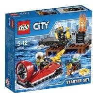 LEGO City 60106 Ensemble de démarrage pompiers-Avant