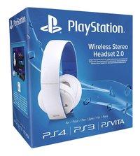 PS4 casque sans fil officiel 2.0 blanc