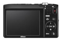 Nikon Digitaal fototoestel Coolpix A100 paars-Achteraanzicht