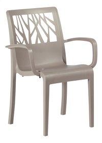 Grosfillex chaise de jardin Vegetal beige