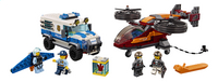 LEGO City 60209 La police et le vol de diamant-Avant