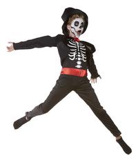 Déguisement de squelette de magicien taille 146