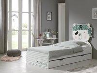 Opberglade voor bed beer/Konijn/Kat wit-Afbeelding 2