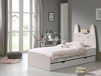 Opberglade voor bed beer/Konijn/Kat wit-Afbeelding 1