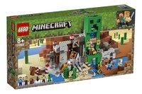 LEGO Minecraft 21155 La mine du Creeper-Côté gauche