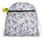 Kipling turnzak Mickey Supertaboo Sketch Grey-Vooraanzicht
