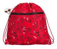 Kipling sac de gymnastique Supertaboo Mickey Sketch Red-Avant