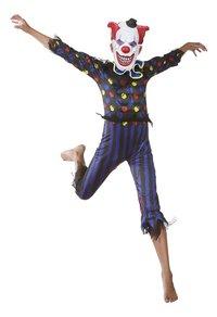 Déguisement de clown diabolique taille 128-Image 1