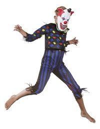 Déguisement de clown diabolique taille 128-Image 2