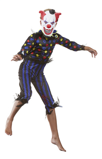 Déguisement de clown diabolique taille 128-Image 3