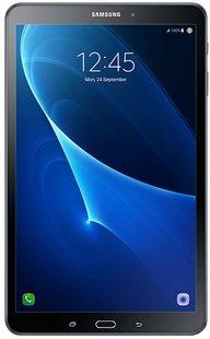 Samsung tablette Galaxy Tab A 2016 W-Fi + 4G 10.1/ 16 Go noir-Avant