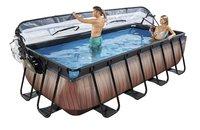 EXIT zwembad Wood met overkapping 4 x 2 m-Afbeelding 1