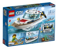 LEGO City 60221 Duikjacht-Achteraanzicht