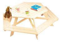 Table de pique-nique pour 6 enfants Nicki-Image 1