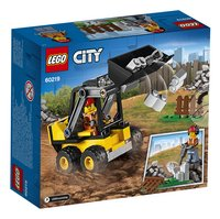 LEGO City 60219 Bouwlader-Achteraanzicht