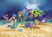 PLAYMOBIL Magic 70099 Chercheurs de perles et raies-Image 1