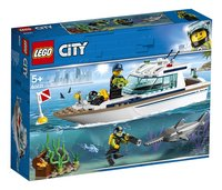 LEGO City 60221 Duikjacht-Linkerzijde