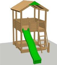 Fox play houten speeltoren Sacramento