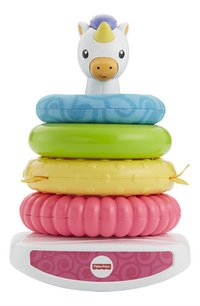 Fisher-Price Rock-a-Stack Pyramide Licorne-commercieel beeld