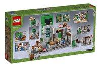 LEGO Minecraft 21155 De Creeper mijn-Achteraanzicht
