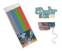 3Doodler recharge gris, bleu, vert et rouge