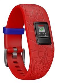Garmin smartband Spider-Man Vivofit junior 2 rood-Linkerzijde
