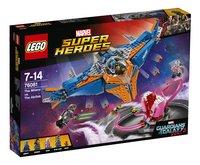 LEGO Super Heroes 76081 Le vaisseau Milano contre l'Abilisk