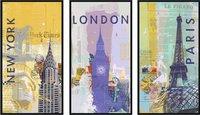 Ravensburger puzzle 3 en 1 Voyage autour du monde-Avant
